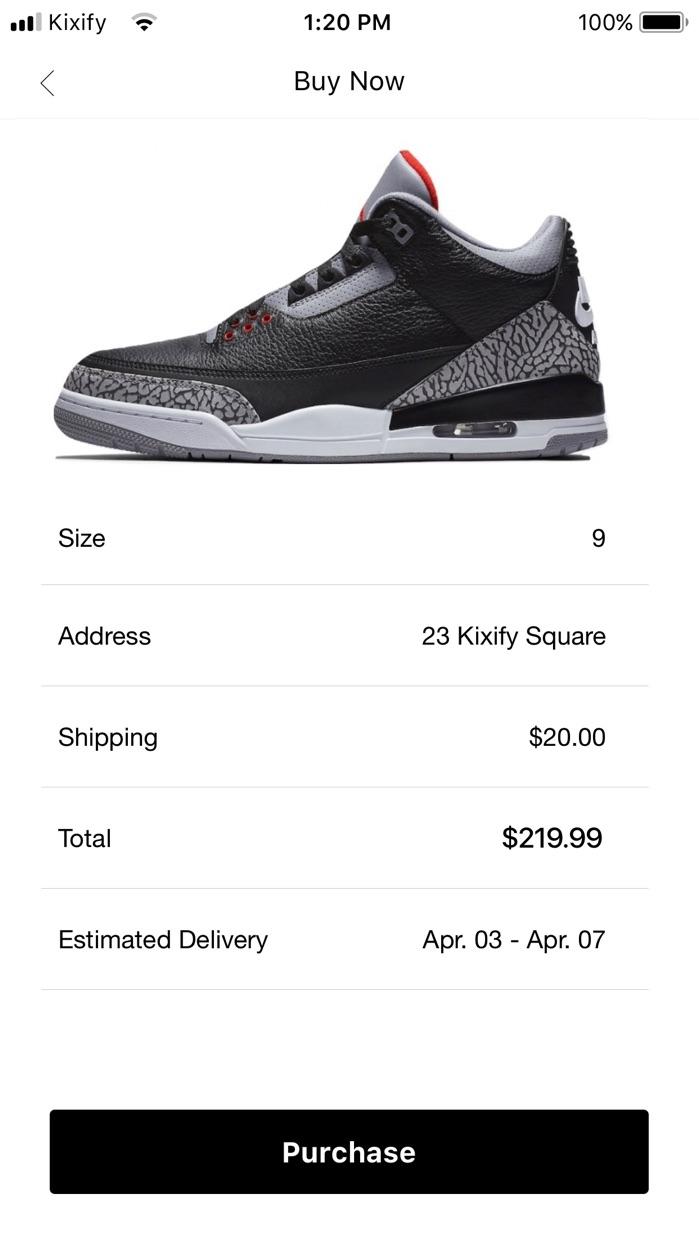 KIXIFY - Buy & Sell Sneakers Screenshot