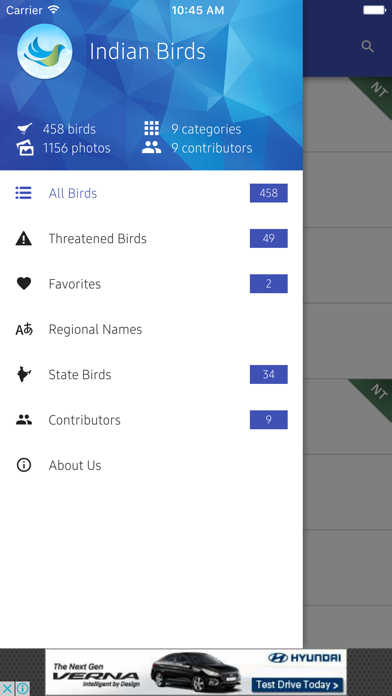 India Birds screenshot one