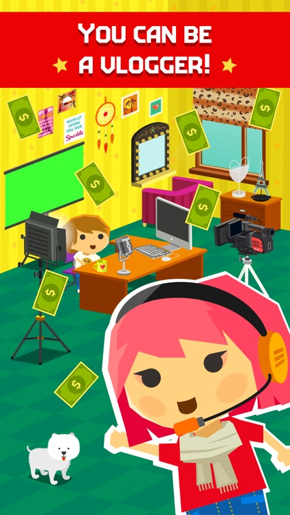 Maria Way Youtube Blogger Game screenshot-5