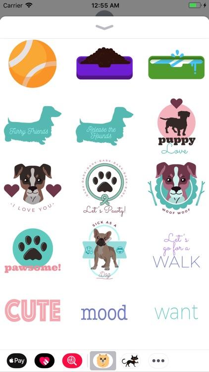 Woofpack Dog Stickers screenshot-3