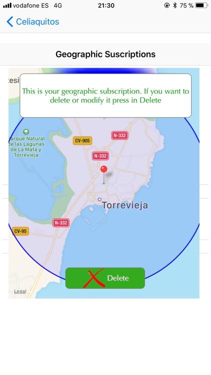 Restaurants SG celiaquitos.com screenshot-4