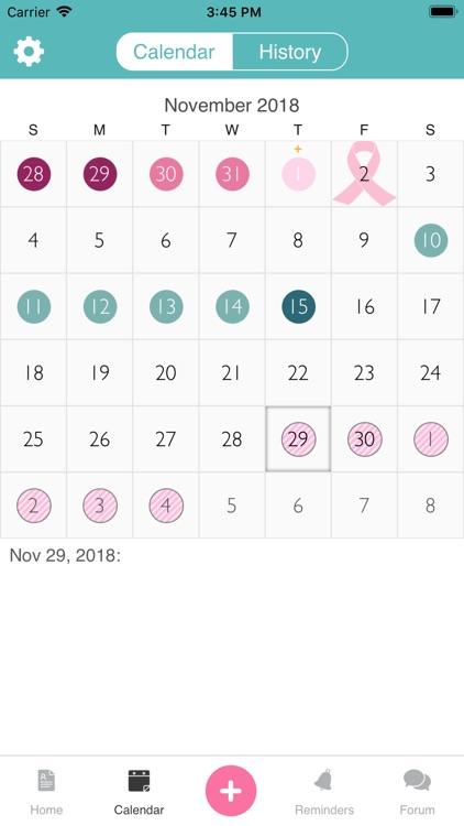 iPeriod Lite Period Tracker