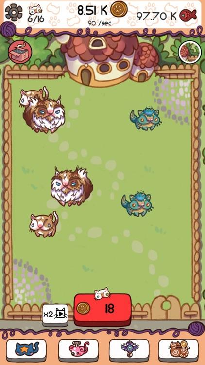 Cute Cat Fusion - Evolve Cats screenshot-4