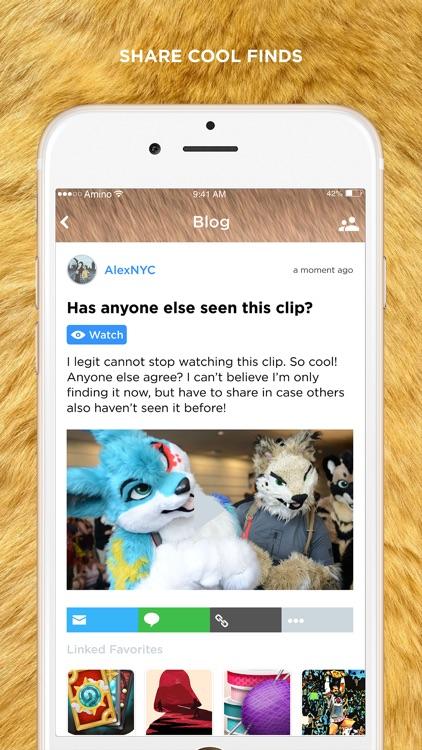 Furry Amino for Furries, Furry Roleplay, Furry News screenshot-3