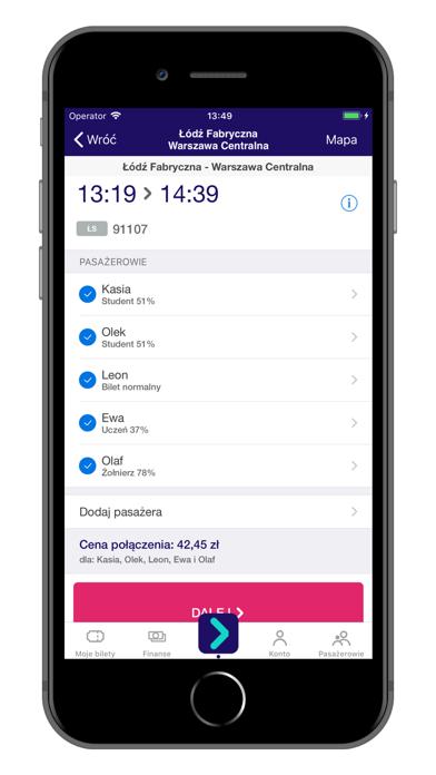 KOLEO - rozkład PKP i bilety screenshot three
