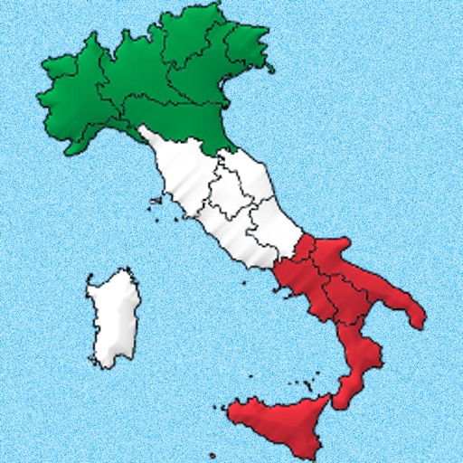 Capital Of Italy Map.Italian Regions The Flag Capital And The Map Of Italy From Piedmont To Sicily