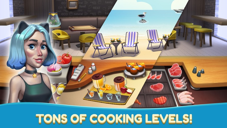 Cooking Games Cafe- Food Fever