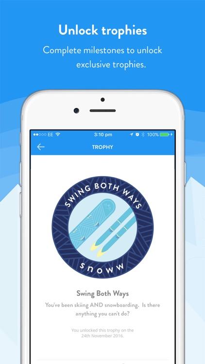 snoww: social ski & snowboard tracker screenshot-3