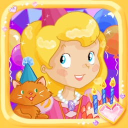 Princess Birthday Puzzles Gold