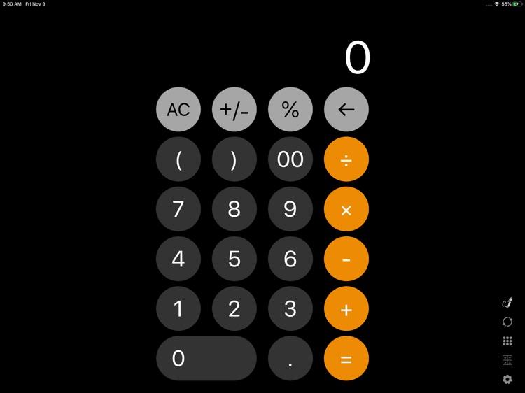 Calculator - Default +