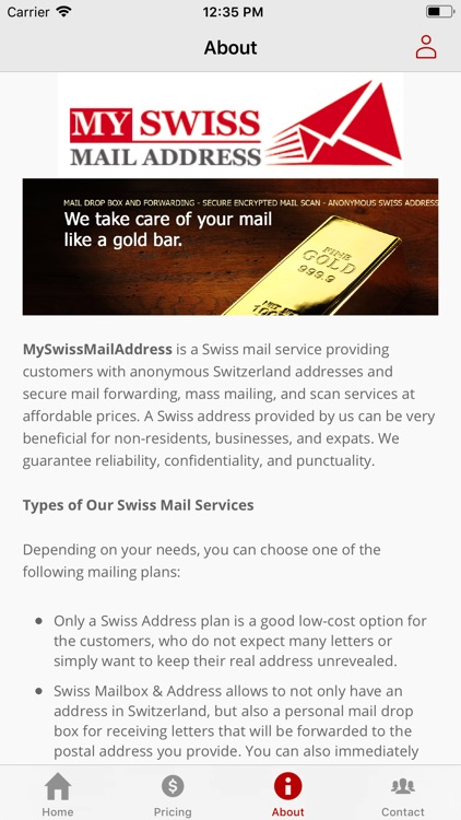 Scan Mail Service