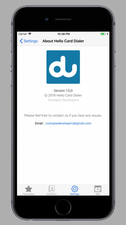 Hello Card Dialer Pro screenshot-3
