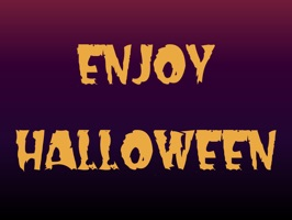 Enjoy Halloween Stickers