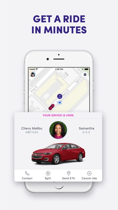Screenshot for Lyft in United States App Store