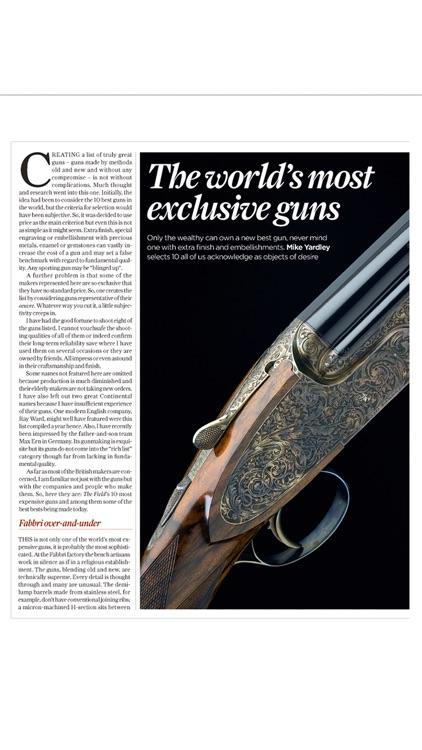The Field Magazine INT screenshot-3