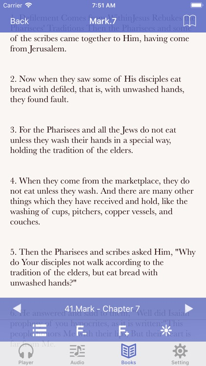 NKJV Bible (Audio & Book) screenshot-3