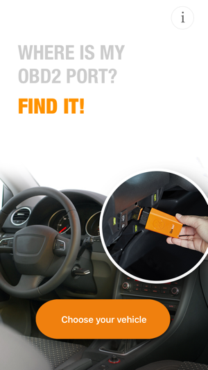 Where is my OBD2 port? Find it on the App Store on