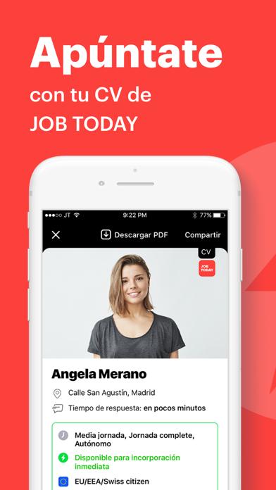 Descargar JOB TODAY: Buscador de empleo para Android