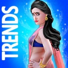 Activities of Indian Dressup Saree Salon