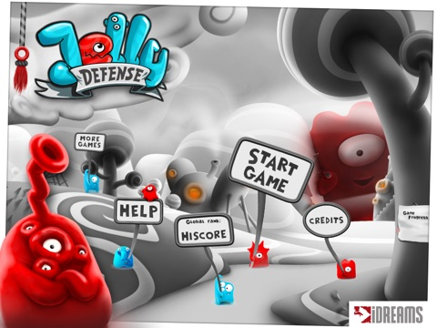 Jelly Defense для iPad