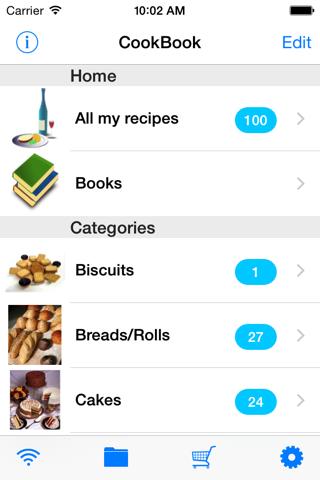 Handy CookBook - náhled