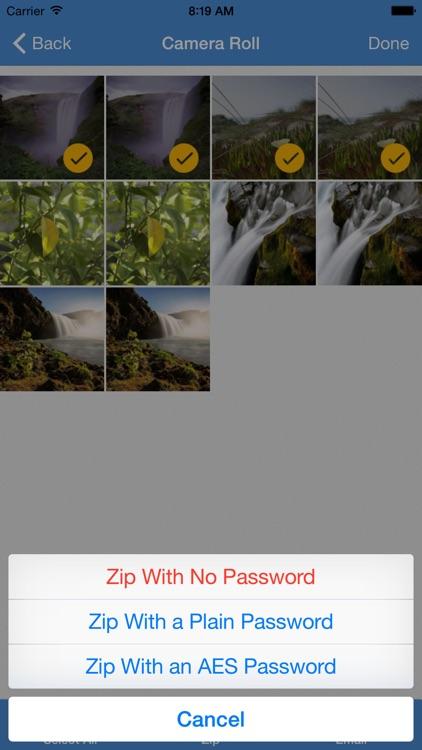 iZip Pro -Zip Unzip Unrar Tool screenshot-3