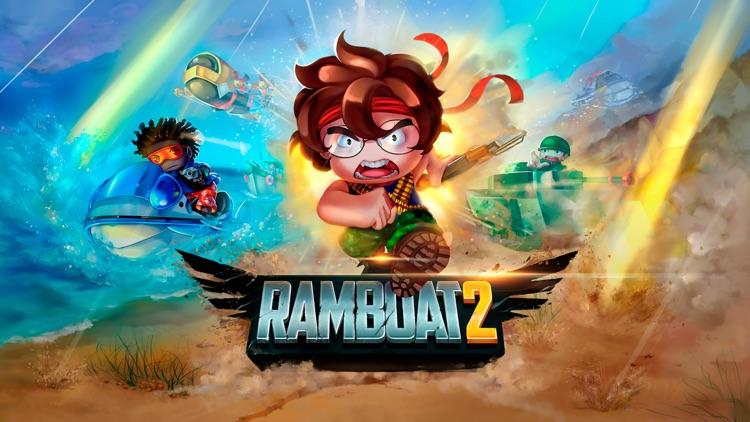 Ramboat 2 - New Shooting Game screenshot-4