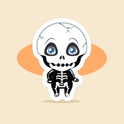 Lovely Halloween Coming Soon Sticker-萬聖節來了