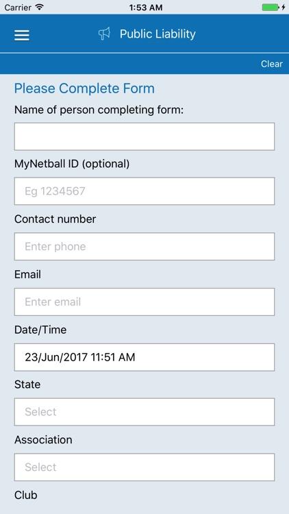 Netball Game Day Checklist
