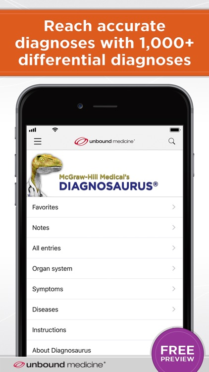 Diagnosaurus® DDx screenshot-0