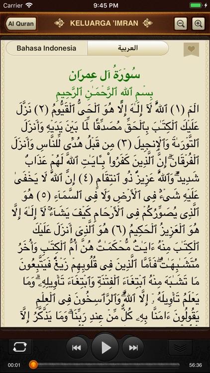 Al-Quran. 114 Surah. Indonesia screenshot-4