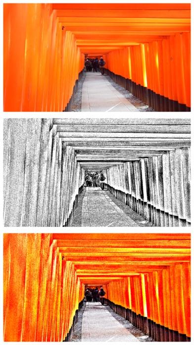 写真で銅版画 - エッチング風写真加工アプリ紹介画像3