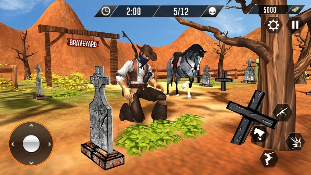 Cowboy Revenge-Wild Horse Guns Cheat Codes