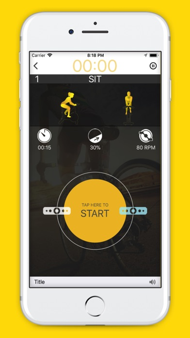 Plus Workout | Indoor cycling Screenshot on iOS