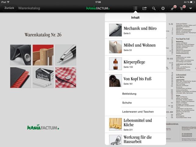 5be1aa03c65e87 Manufactum im App Store