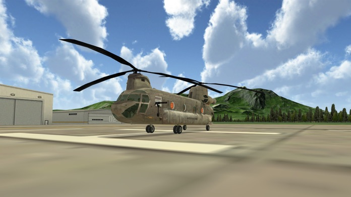 Chinook Ops - Flight Simulator Screenshot
