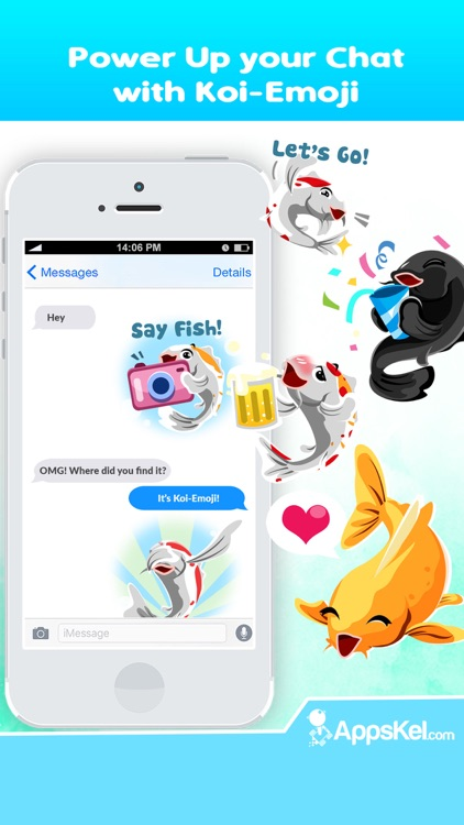 Koi Fish Emoji – Carp Stickers