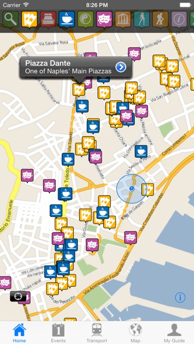 Naples Travel Guide Offline review screenshots