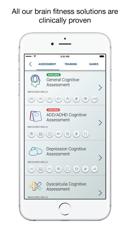 CogniFit Brain Test & Training