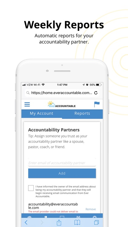 Ever Accountable Browser