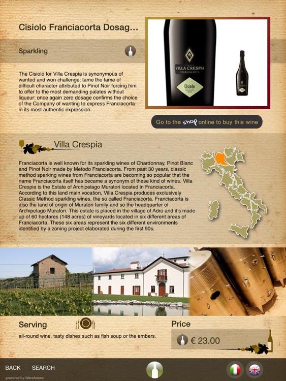 WineAmore - Digital Wine List screenshot-4