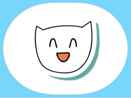 Large Set of White Cats stickers for imessage