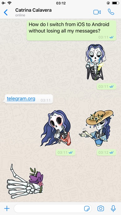 WhatsApp Stickers - Halloween