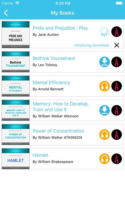 AudioBooks: Best of AudioBooks screenshot-3