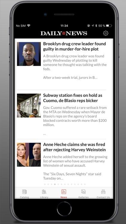 Daily News - Digital Edition screenshot-4