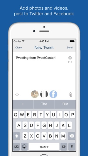 TweetCaster for Twitter on the App Store
