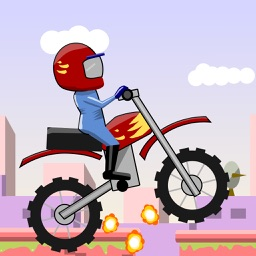 Flying Bike Race