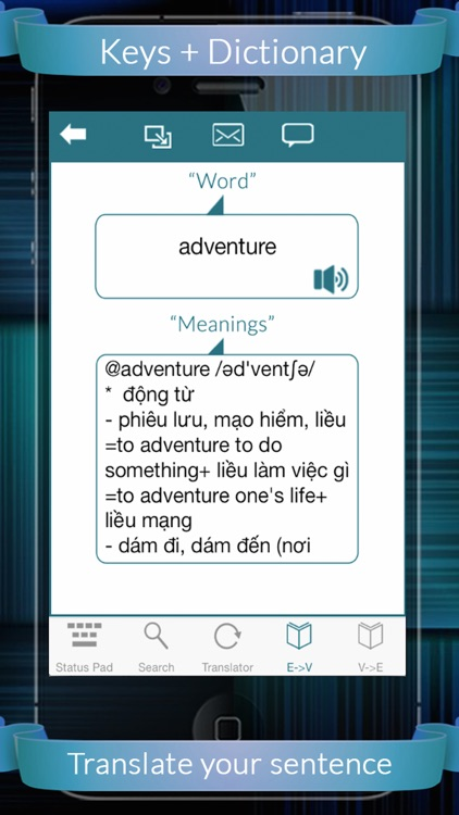 Viet Eng Dictionary + Keys