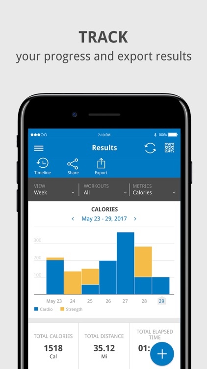 LFconnect – Workout Tracking