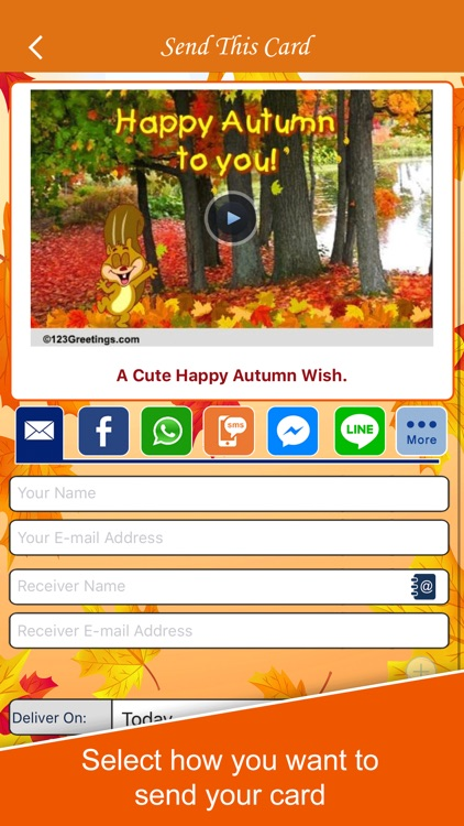 Autumn Cards screenshot-3